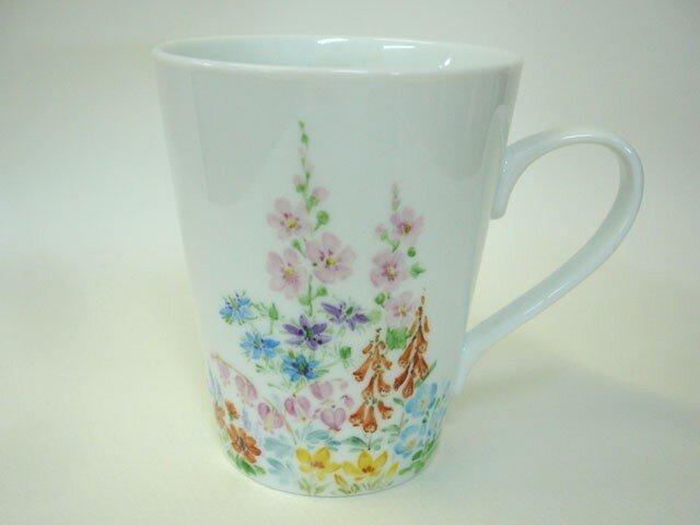 「草花の庭」マグカップ(4)の画像1枚目