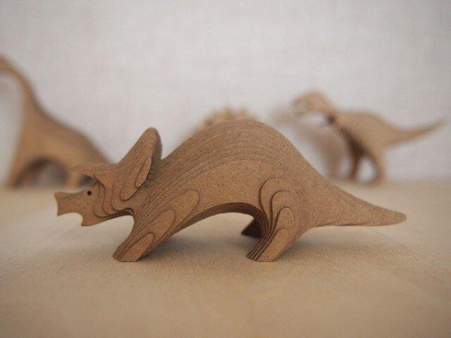 【DANSAURUS】 - トリケラトプスの画像1枚目