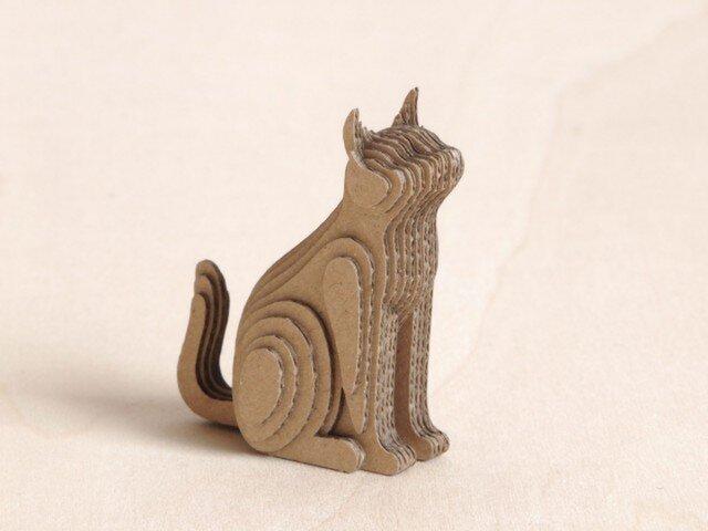 【工作キット】段々猫-sitting-bの画像1枚目