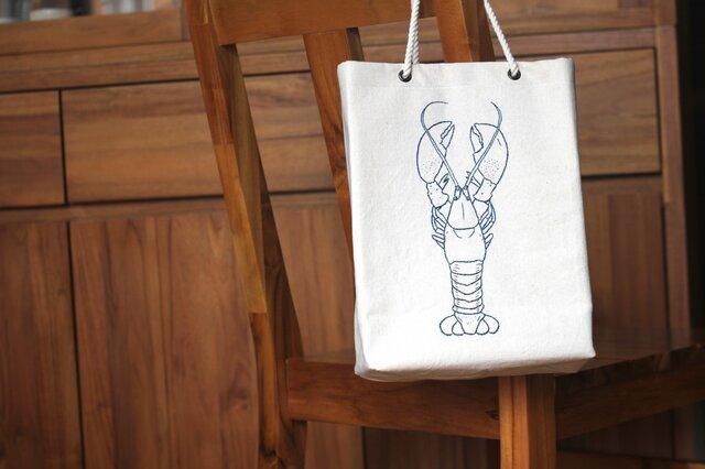 帆布ロブスターバッグの画像1枚目