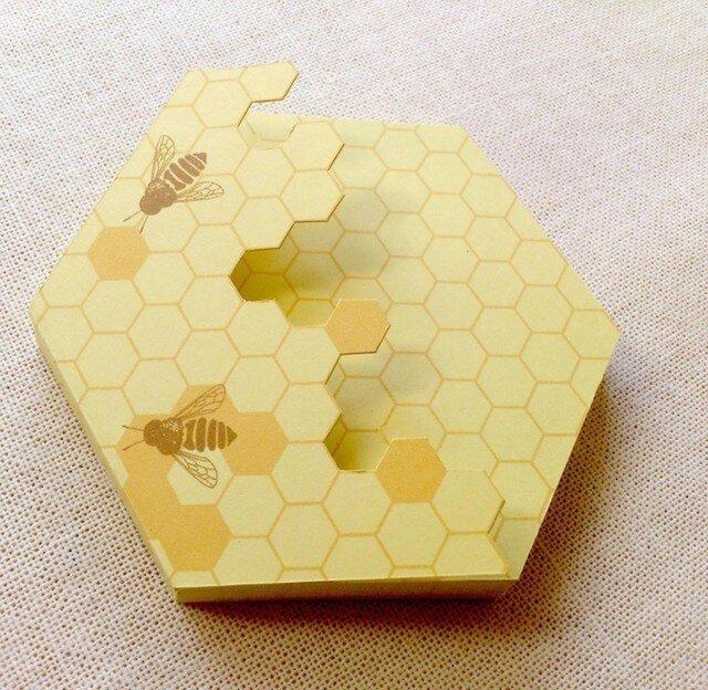 蜜蜂メモの画像1枚目