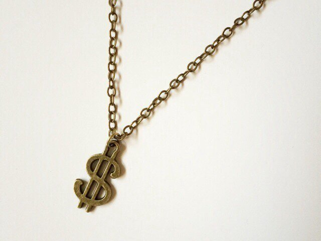 $ necklaceの画像1枚目