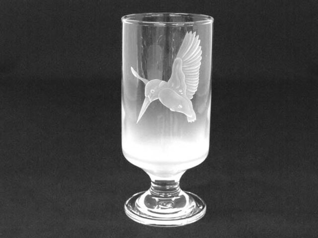 ビール旨い不思議なグラス「カワセミ」の画像1枚目
