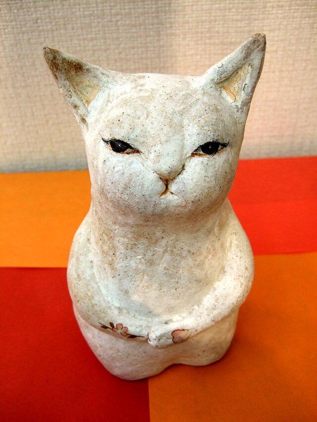 陶猫☆桜満開の画像1枚目