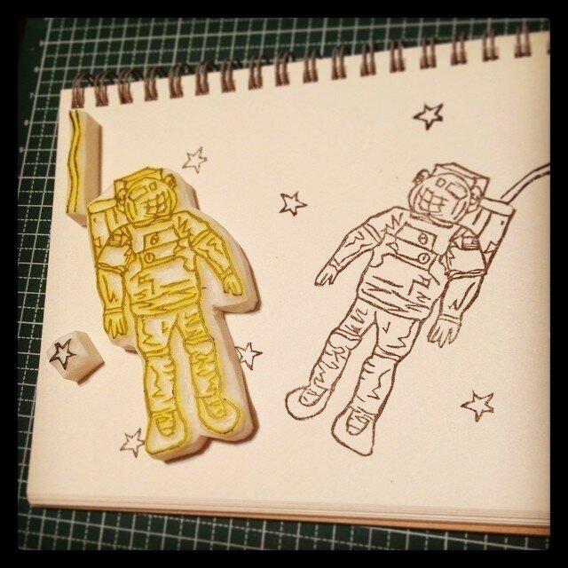 宇宙飛行士の画像1枚目
