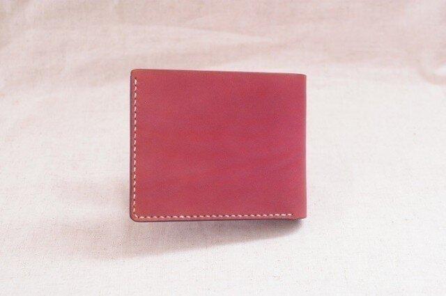 二つ折り財布 《 Ruby Red 》の画像1枚目