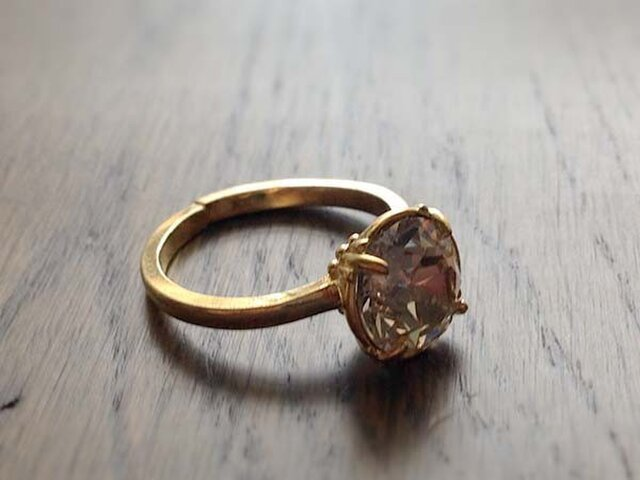 Swaro Vintage Style Ring 8mmの画像1枚目
