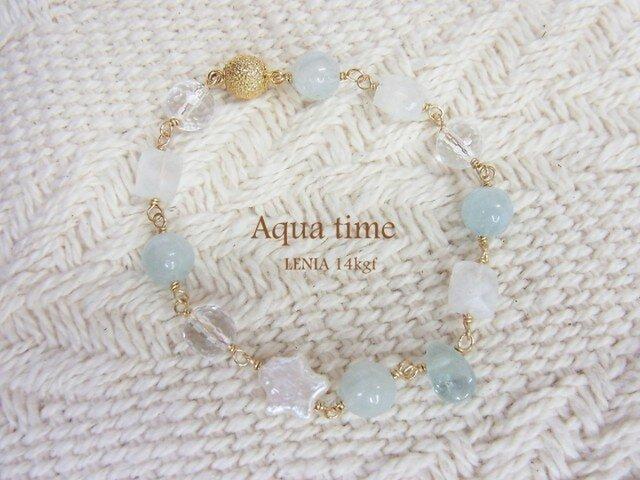 *Pure Aqua*ブレスレットの画像1枚目