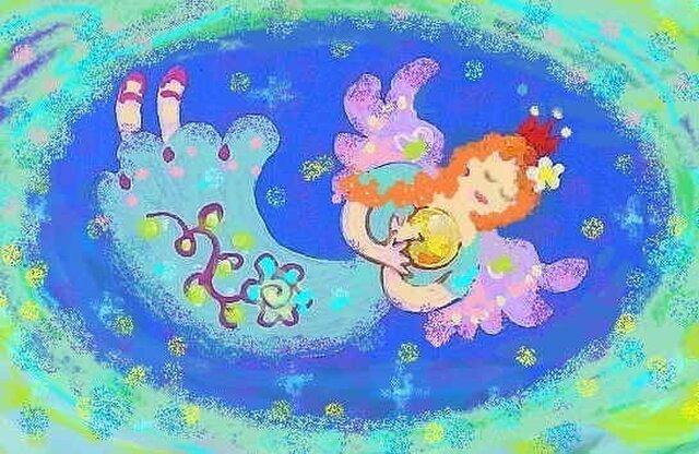 青い天使・ポストカードの画像1枚目