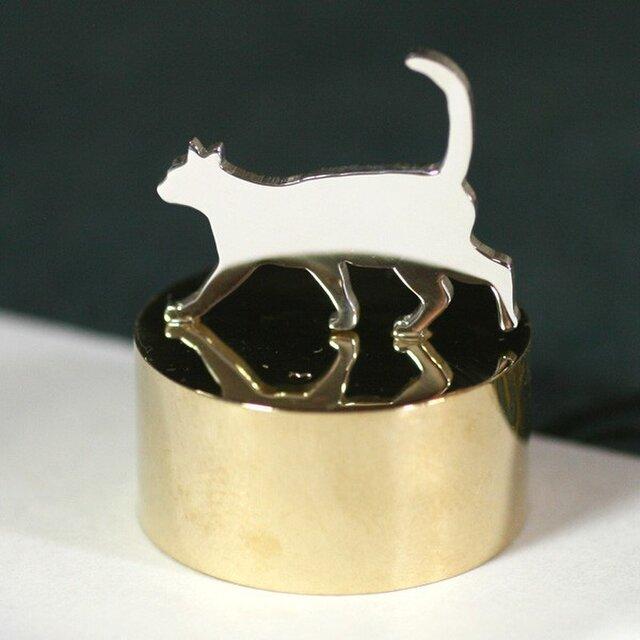 Cat-paperweight-1 ペーパーウエイトの画像1枚目