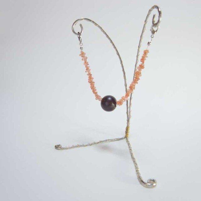 マグネット羽織紐(サンストーン)の画像1枚目