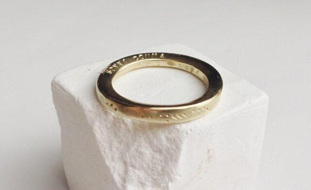 order made ring 01の画像1枚目