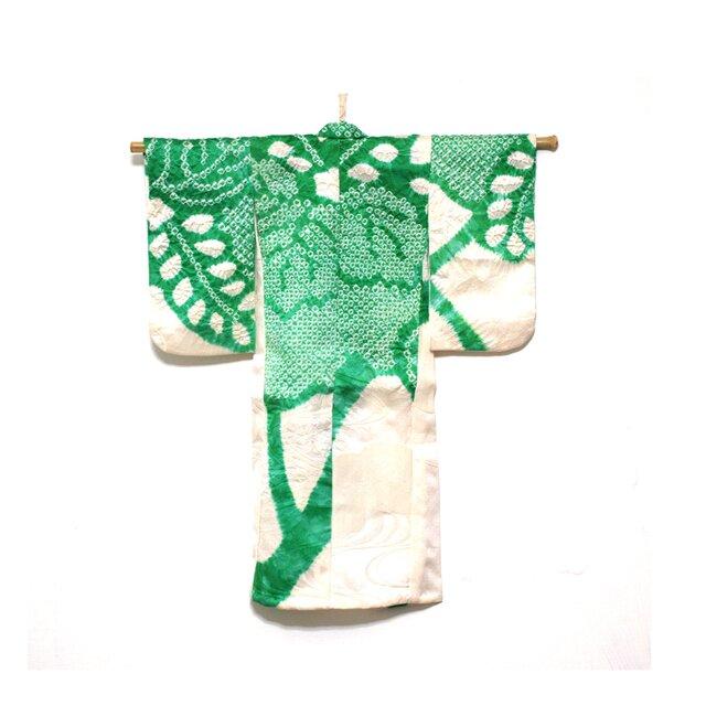 着物タペストリー【GREEN】の画像1枚目