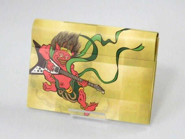 Paper Cardcase「風神雷神 バンドver」の画像1枚目