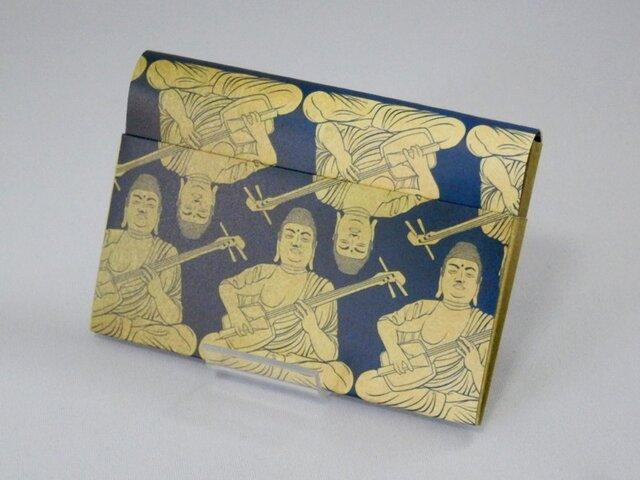 Paper Cardcase「大仏 三味線」の画像1枚目