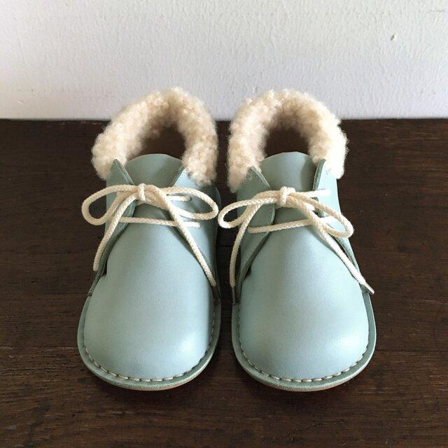fluffy boots * aquatintの画像1枚目