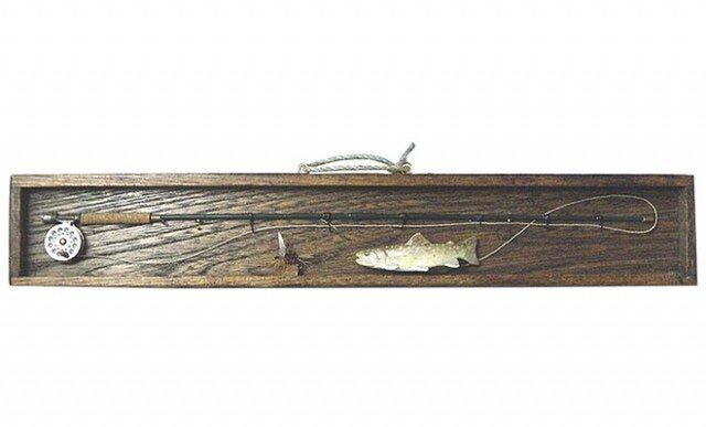 ミニチュア フライロッド&岩魚の画像1枚目