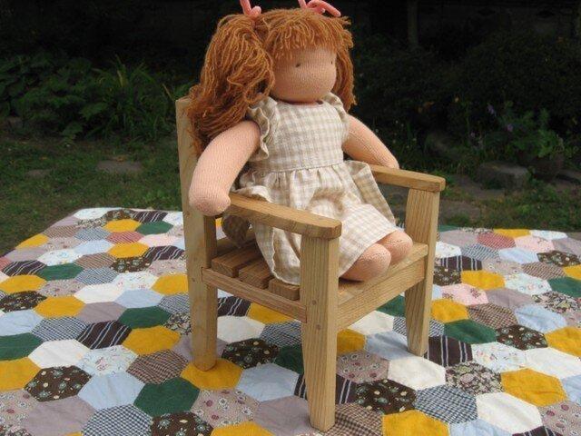 お人形椅子の画像1枚目