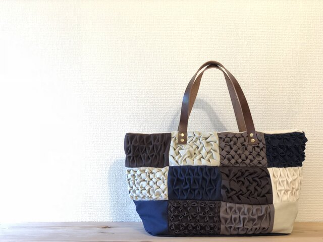 Tote bag -Patchy-の画像1枚目
