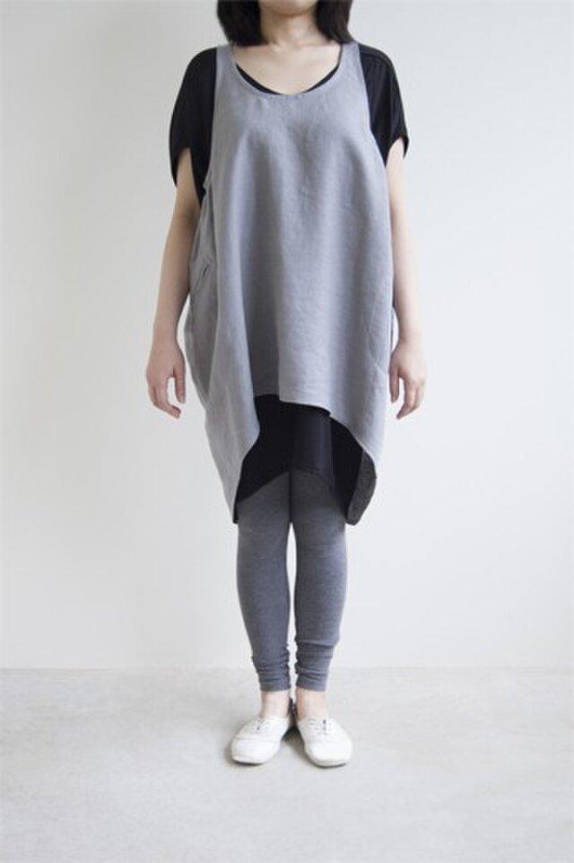 Apron(gray)の画像1枚目