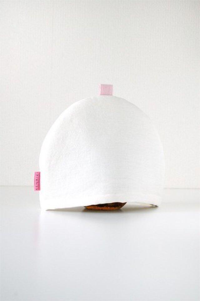 Tea Cozy(white)の画像1枚目