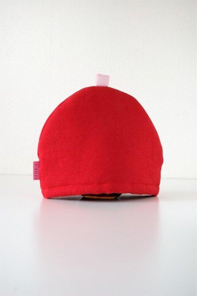 Tea Cozy(red)の画像1枚目
