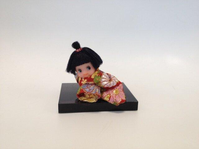 ハイハイキューピー日本人形の画像1枚目