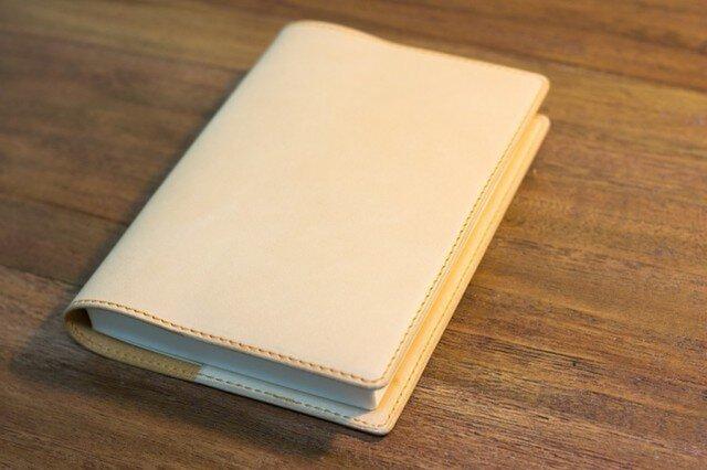 革のブックカバー プレミアム・ヌメの画像1枚目