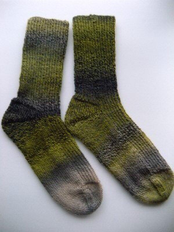手編み靴下クレイジー・ザウバー・ボール 2081】の画像1枚目