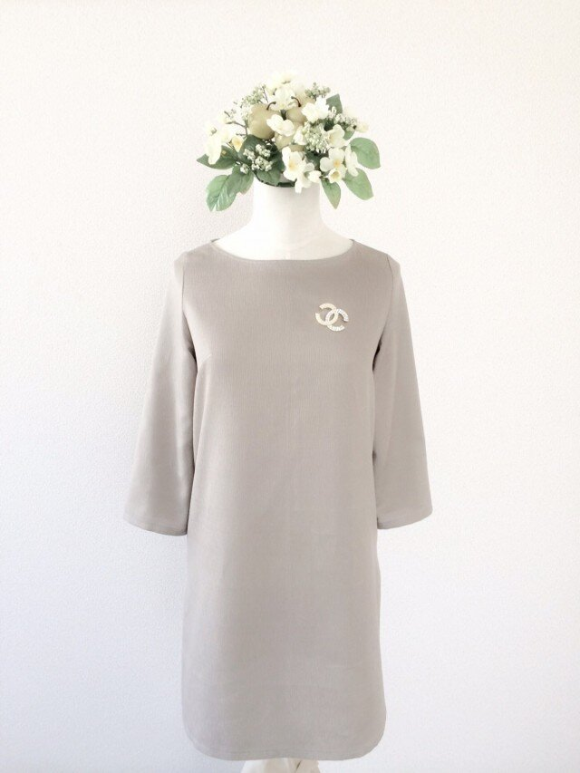 AUDREY BASIC DRESSの画像1枚目