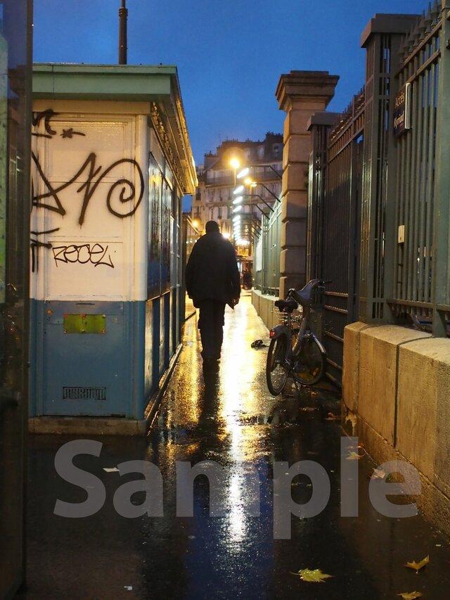 パリ 東駅の朝Ⅲの画像1枚目