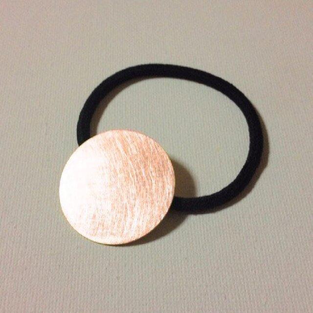 【再販】銅のヘアゴムの画像1枚目