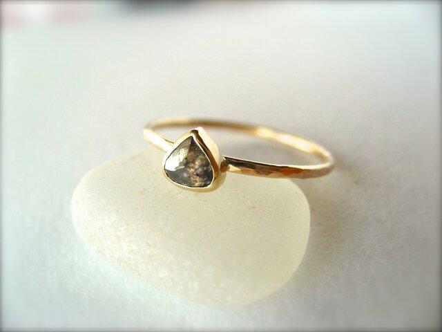 Baby Malone Diamond Ring 14kの画像1枚目