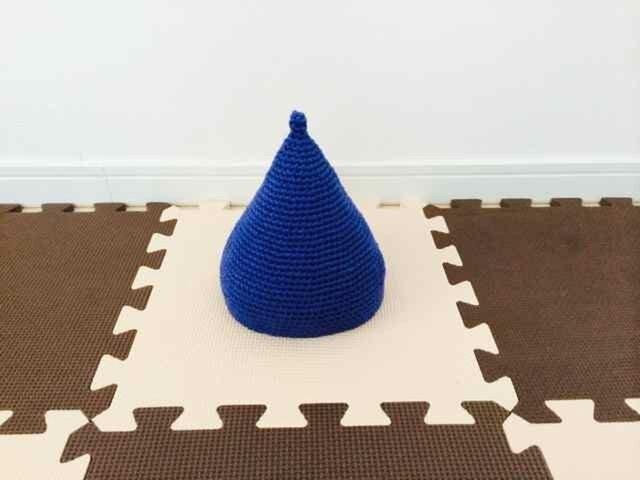 とんがり帽子 baby BLUEの画像1枚目