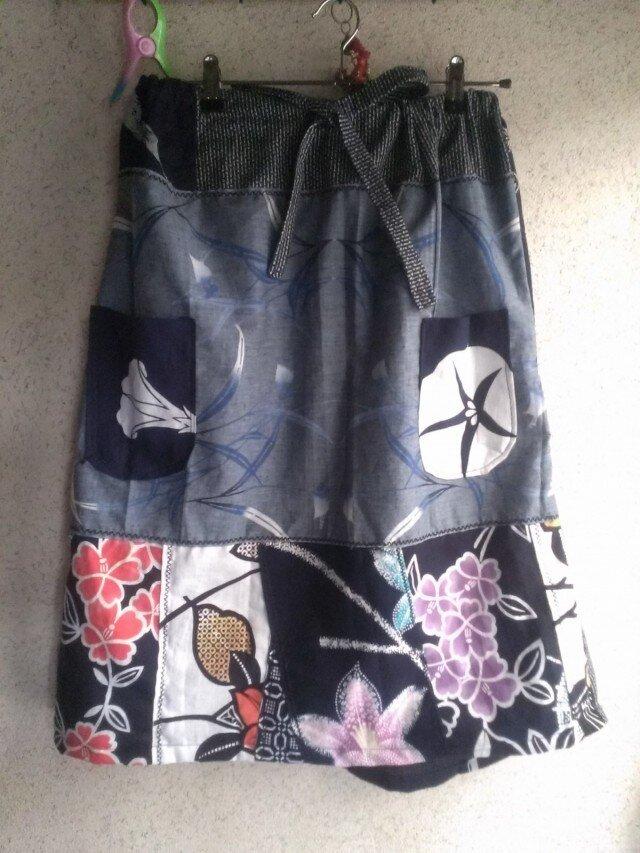 浴衣地スカート 141012-01の画像1枚目
