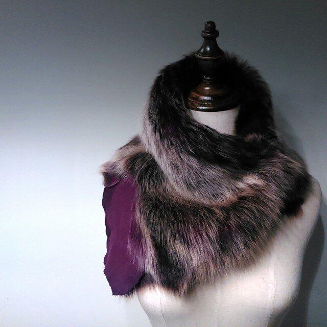 Toscana lambskin scarfの画像1枚目
