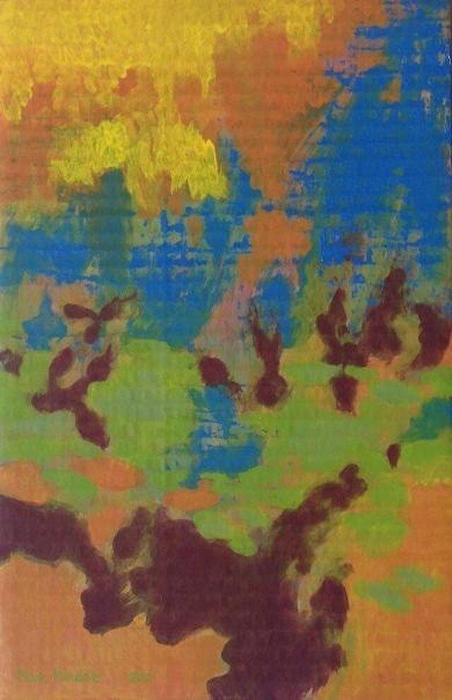 瓦解する秋の日の色彩の画像1枚目