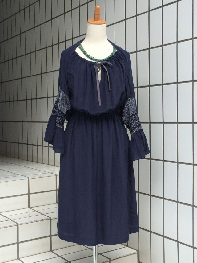 【SOLD OUT】兵児帯のアンサンブルドレスの画像1枚目