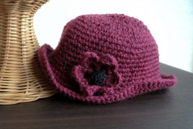 【SALE】おしゃまさんの 赤い帽子の画像1枚目