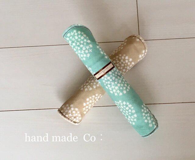 Choose! 布ナプキン L・mint almond/1枚の画像1枚目