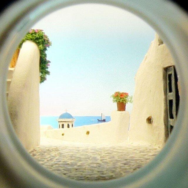 ボトルスコープ ギリシャ サントリーニ島の画像1枚目