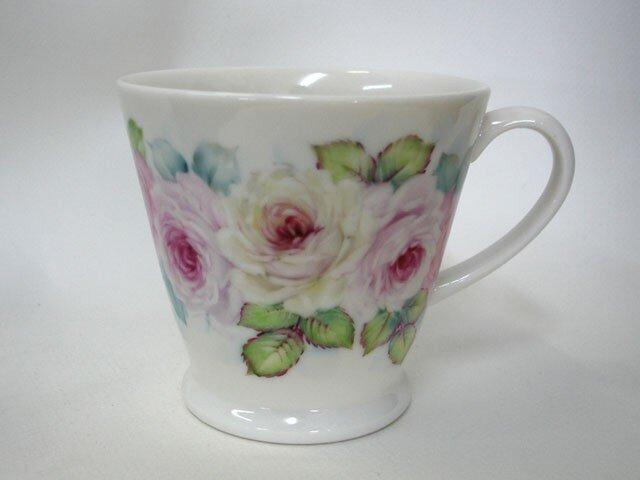 ぐるっと薔薇のマグカップ(1)の画像1枚目