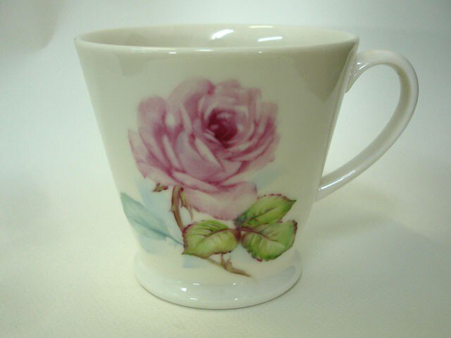 マグカップ 薔薇いちりん(2)の画像1枚目