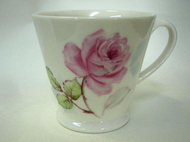 マグカップ 薔薇いちりん(5)の画像1枚目