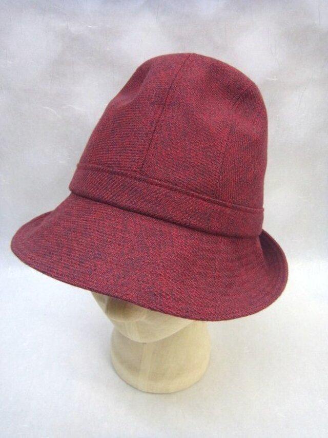 sold out ウール&カシミヤの中折れ帽子の画像1枚目