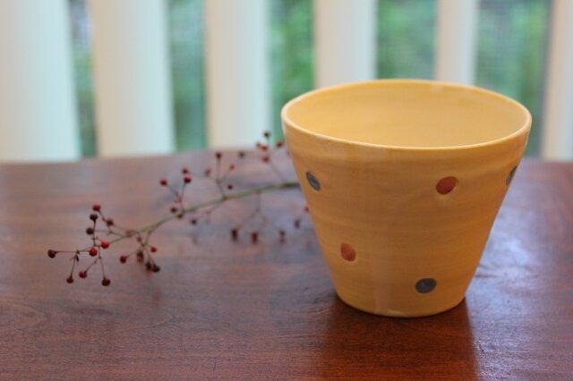 色化粧ドットフリーカップ2の画像1枚目