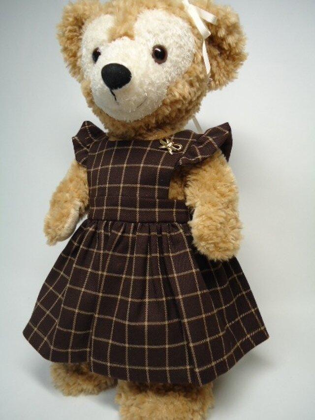 ダッフィーお洋服 ジャンパースカートの画像1枚目