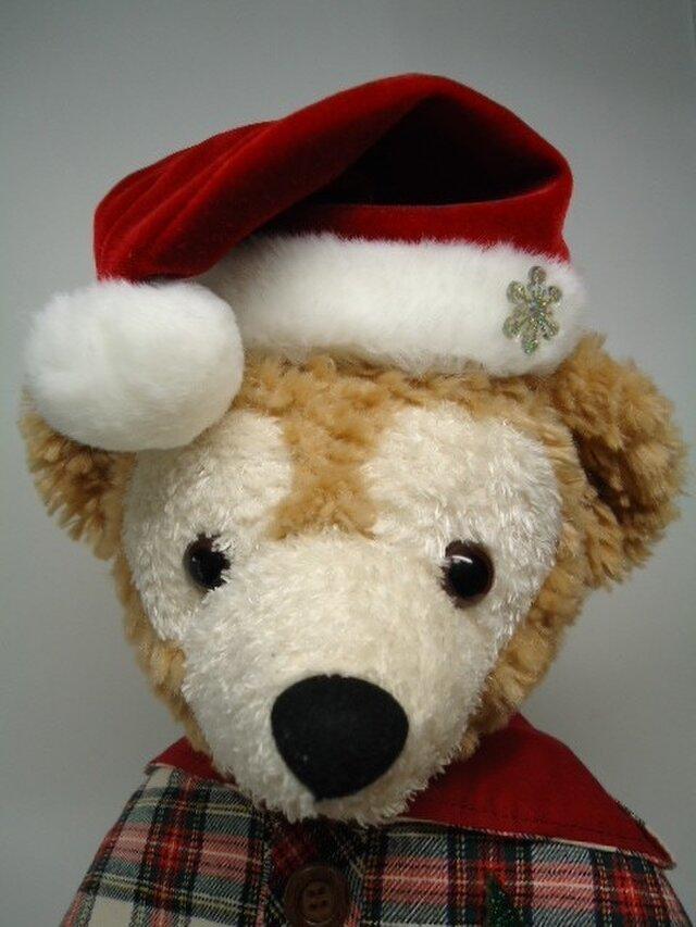 ダッフィー帽子 クリスマス三角帽の画像1枚目