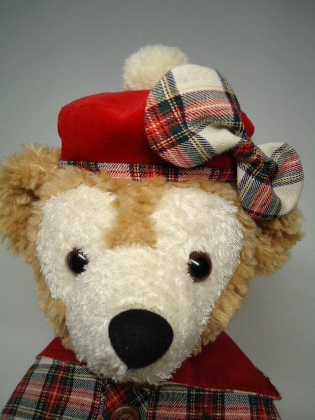ダッフィー帽子 ベレー帽の画像1枚目