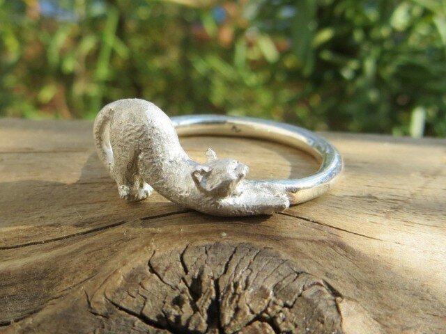 指輪 猫の伸びの画像1枚目
